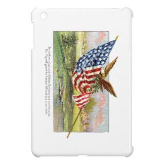 American Eagle and Flag Cover For The iPad Mini