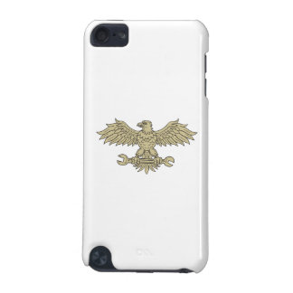 American Eagle Clutching Spanner Drawing iPod Touch (5th Generation) Covers