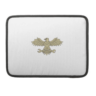 American Eagle Clutching Spanner Drawing Sleeve For MacBook Pro