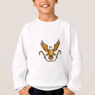 American Eagle Clutching Towing J Hook Retro Sweatshirt
