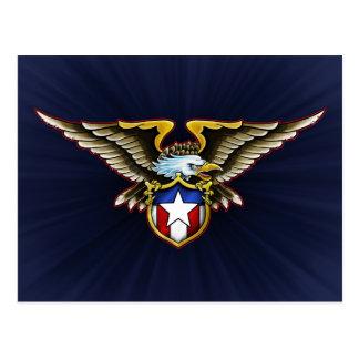 American Eagle Design Postcard