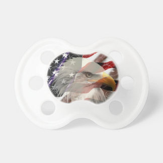 American Eagle Flag Pacifier