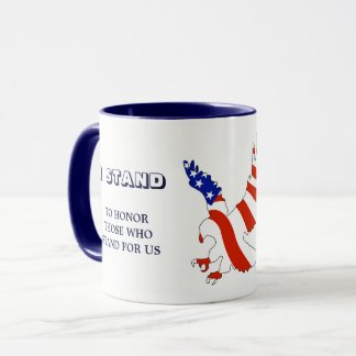 American Eagle I Stand Mug