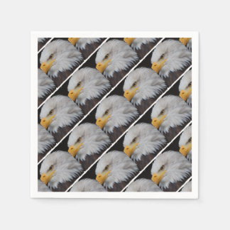 AMERICAN EAGLE - Jean Louis Glineur Photography Disposable Napkins