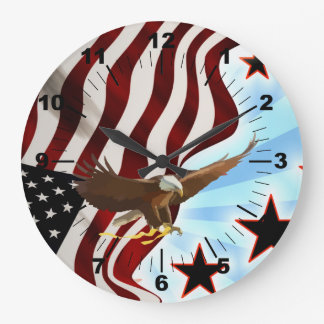 American eagle large clock