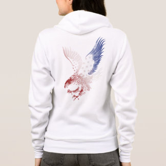 American Eagle, Patriotic, Red White & Blue, Hoodie