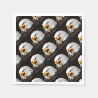 AMERICAN EAGLE - Photography Jean Louis Glineur Paper Napkins