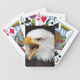 AMERICAN EAGLE - Photography Jean Louis Glineur Poker Deck
