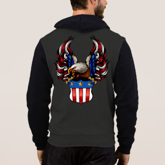 American Eagle, Red White & Blue, Patriot, Hoodie