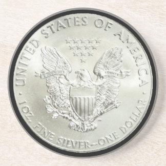 AMERICAN EAGLE SILVER DOLLAR-COASTER COASTER