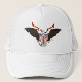 American Eagle USA White Hat