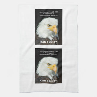 American Eagle wants to Quit Kitchen Towel
