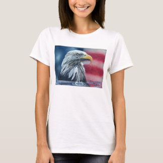 American Eagle Weeps for Country Womens T-Shirt