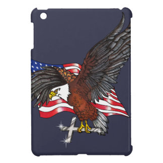 American Eagle with Cross Case For The iPad Mini