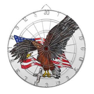 American Eagle with Cross Dartboard