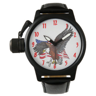 American Eagle with Cross Watch