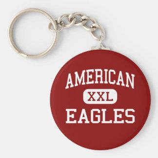 American - Eagles - High - Fremont California Keychain