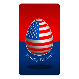 American Easter Business Cards