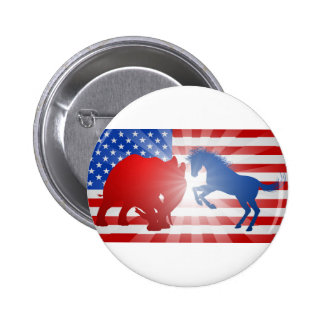 American Election Concept 2 Inch Round Button