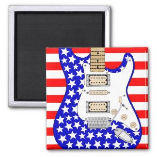 American Electric Guitar Magnet