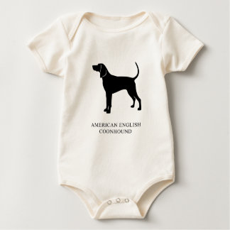 American English Coonhound Baby Bodysuit