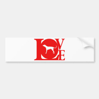 American English Coonhound Bumper Sticker