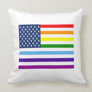 American Equality Throw Pillow
