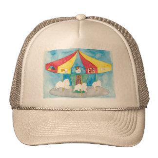 American Eskimo Carousel Trucker Hat