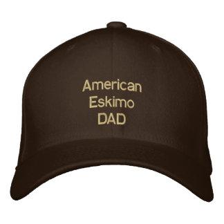 American Eskimo DAD Baseball Cap