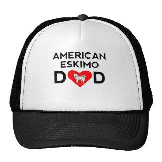American Eskimo Dad Mesh Hat