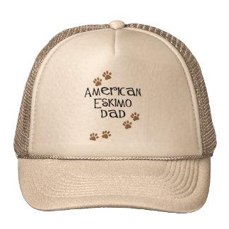 American Eskimo Dad Hats