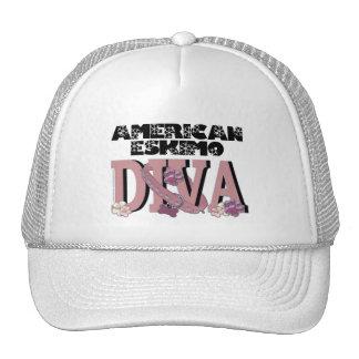 American Eskimo DIVA Mesh Hats