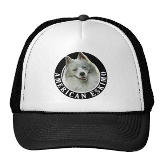 American Eskimo Dog 002 Trucker Hat