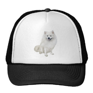 American Eskimo Dog (A) Trucker Hat