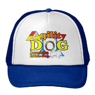American Eskimo Dog Agility Gifts Trucker Hat