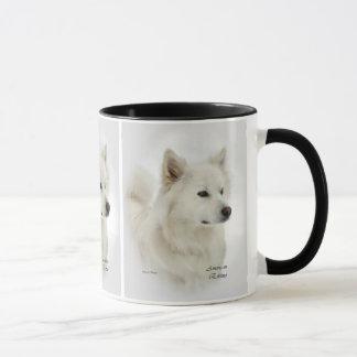 American Eskimo Dog Art Gifts Mug