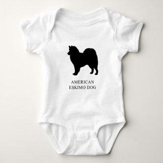 American Eskimo Dog Baby Bodysuit