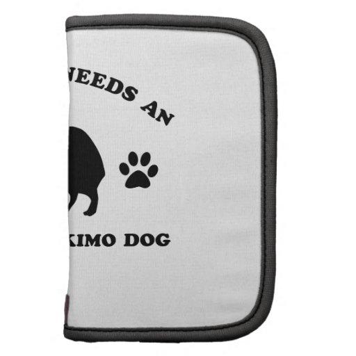 American eskimo Dog Breed Folio Planner