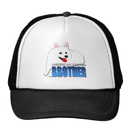 American Eskimo Dog Brother Mesh Hat