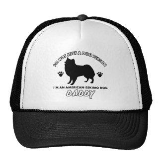 American eskimo  Dog Daddy Hat