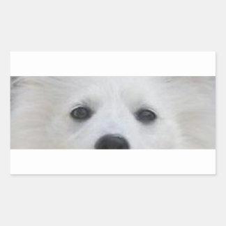 American_Eskimo_Dog eyes Sticker