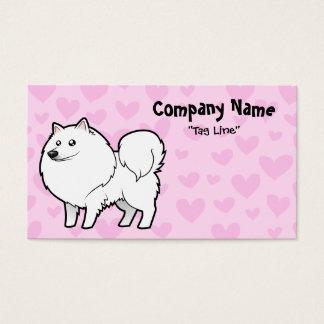 American Eskimo Dog / German Spitz Love Business Card