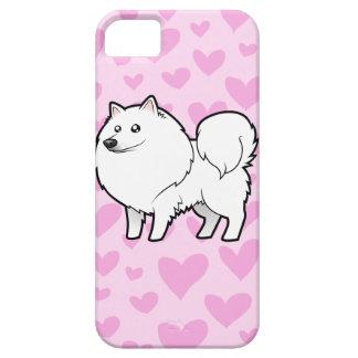American Eskimo Dog / German Spitz Love iPhone 5 Cases