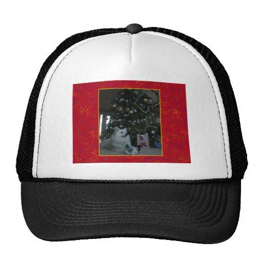American Eskimo Dog Mesh Hats