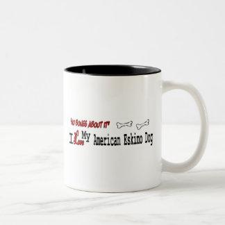 American Eskimo Dog (I Love) Mug