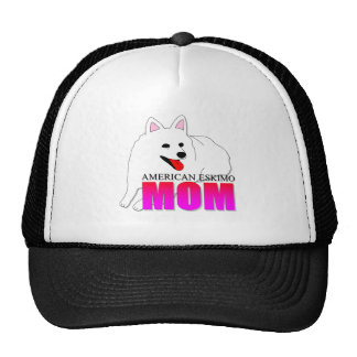 American Eskimo Dog Mom Trucker Hat