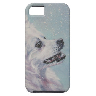 American Eskimo dog portrait iphone Case