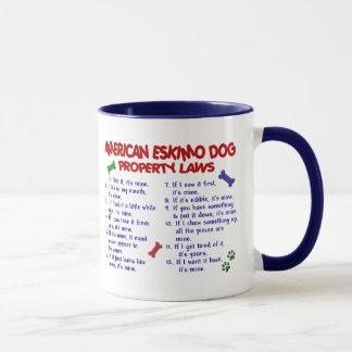 AMERICAN ESKIMO DOG Property Laws 2 Mug