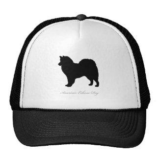 American Eskimo Dog silhouette Trucker Hat