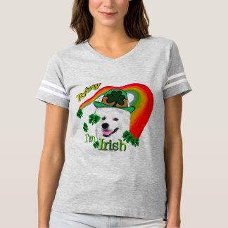 American Eskimo Dog St Patricks Day T-shirt
